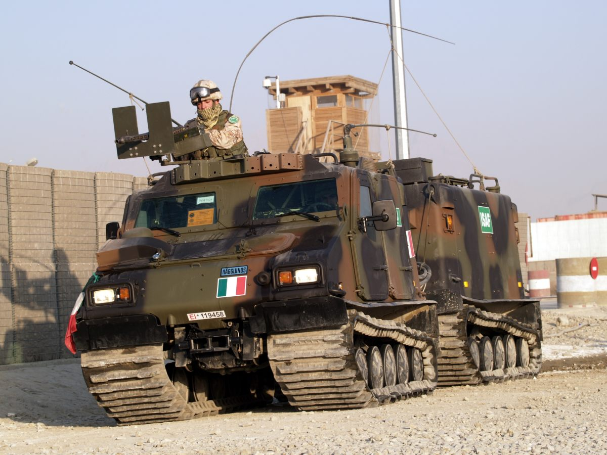 BV 206 - BV 206 S - Coccarde Tricolori