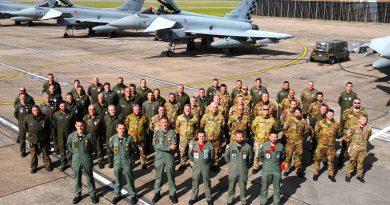 L'Aeronautica Militare alla Cobra Warrior 2019