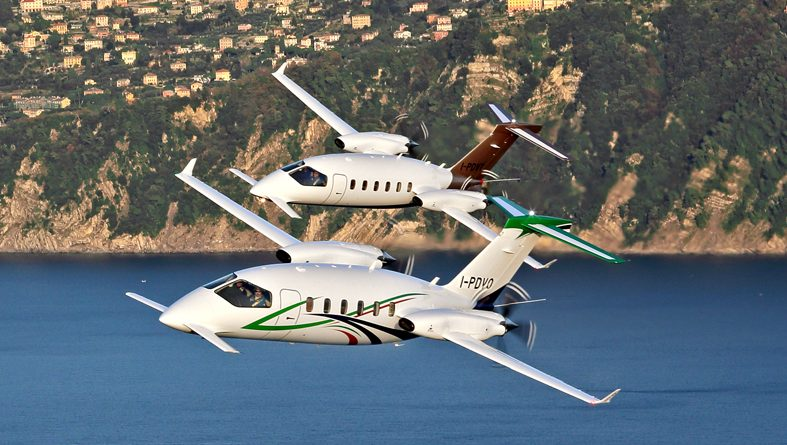 Piaggio Aerospace firma un contratto per la manutenzione della flotta P.180 della Difesa