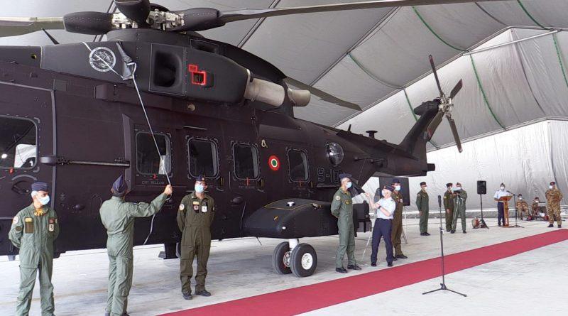 Consegnato il primo HH-101 del 9° Stormo