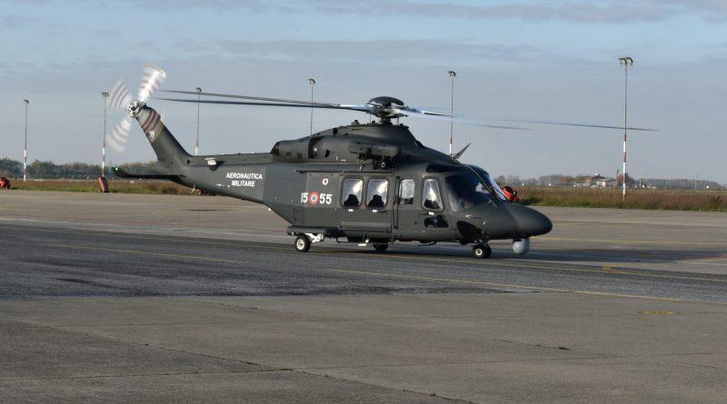 Consegnato all'Aeronautica Militare il primo elicottero HH-139B