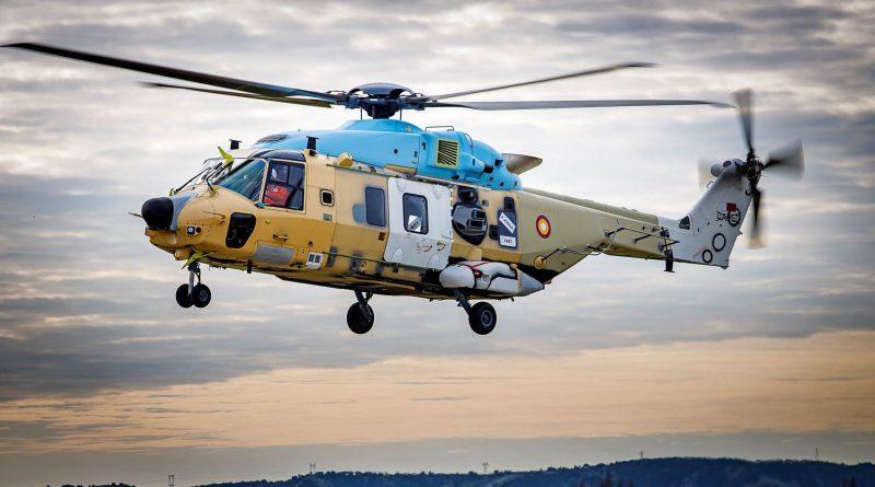 Volano i nuovi elicotteri NH-90 per il Qatar